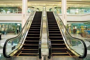 Эскалаторы в торговых центрах
